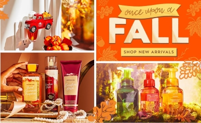 Fall In Love With Bath And Body Works