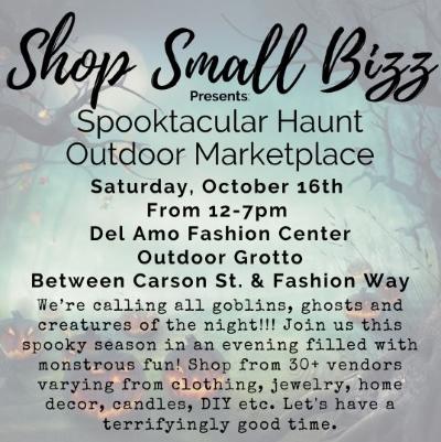 The Shop Small Bizz Spooktacular Haunt!