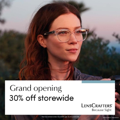 Lenscrafters Grand Opening