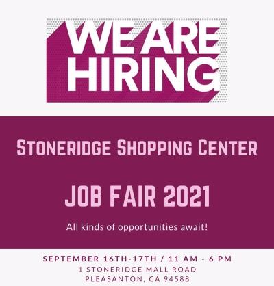 Stoneridge Shopping Center Job Fair 2021