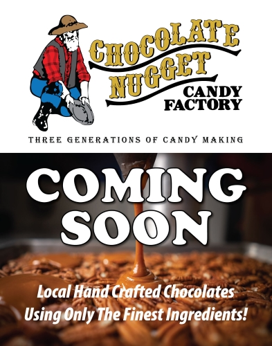 Chocolate Nugget Candy Factory is Coming Soon