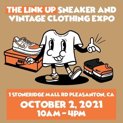 The Link Up Sneaker and Vintage Clothing Expo