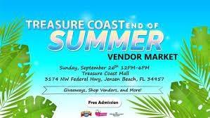 Treasure Coast End of Summer Vendor Market