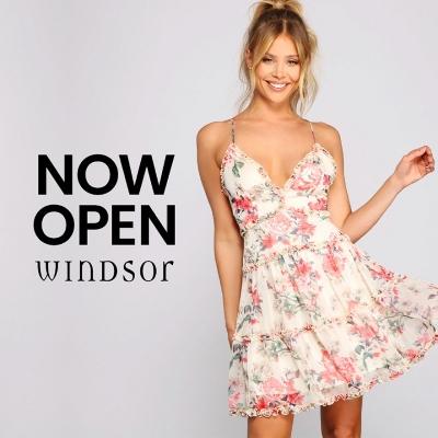 Windsor Now Open!
