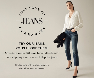 Love Your Jeans Fit Guarantee Trial