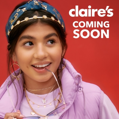 Claire's - Coming Soon!