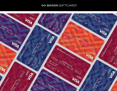 Simon Gift cards in the Management Office