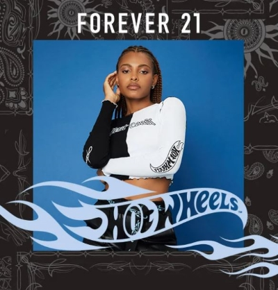 Forever 21 x Hot Wheels