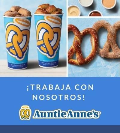 Trabaja con nosotros - Auntie Anne's