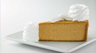 Pumpkin Cheesecake is back!