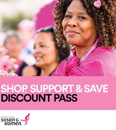 Susan G. Komen Digital Discount Pass