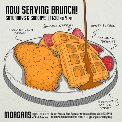 Morgan's Brooklyn Barbecue - Now Serving Brunch