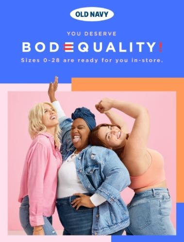 You Deserve Body Equality