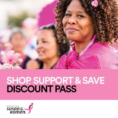 Susan G Komen Discount Pass