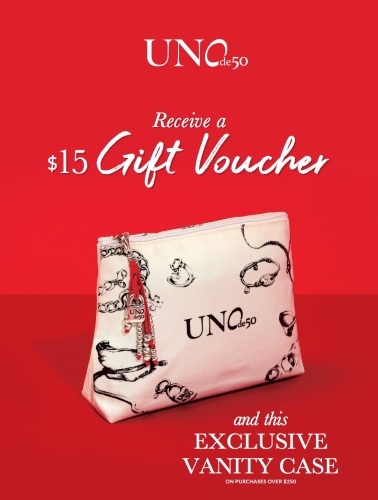 Gift With Purchase from UNOde50