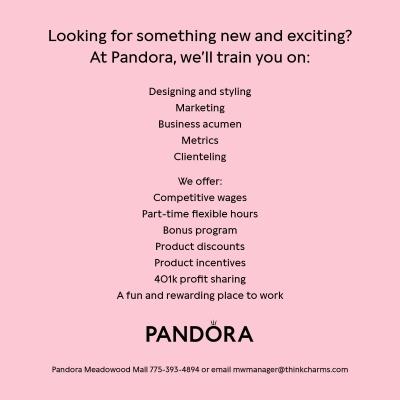 Pandora is hiring!