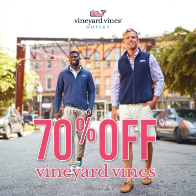 Up To 70% Off At vineyard vines Outlet!