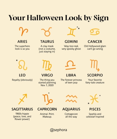 Your Halloween Look by Sign