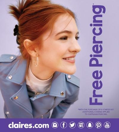 Free Piercing!