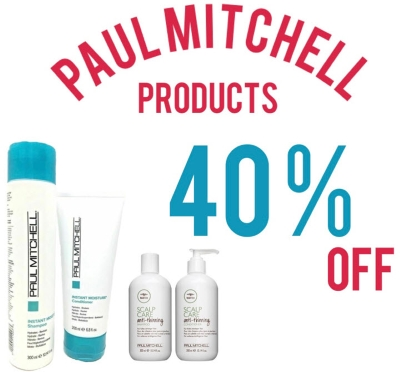 40% Off Paul Mitchell Products
