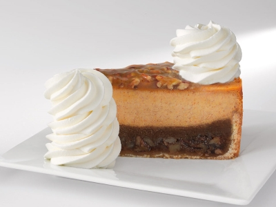 Fall in love with Pumpkin at Cheesecake Factory