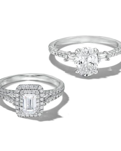 Explore Platinum Engagement Rings