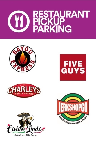 New Restaurant To-Go Parking Spaces