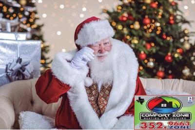 Coming Soon - Santa's Comfort Zone