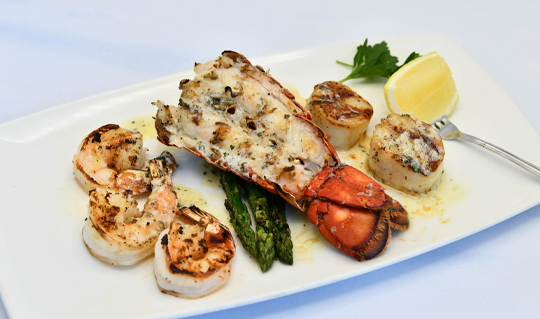 Dining at The Oceanaire Seafood Room
