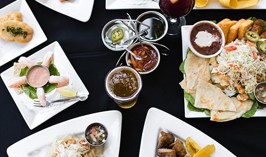 Dining at Los Ranchos Restaurant