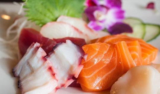 Dining at Sushi Zushi