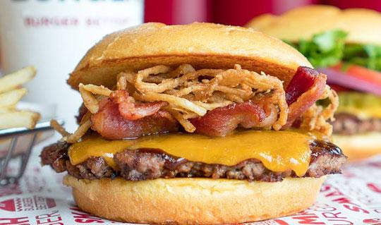 Dining at Smashburger