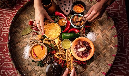 Dining at Peli Peli South African Kitchen