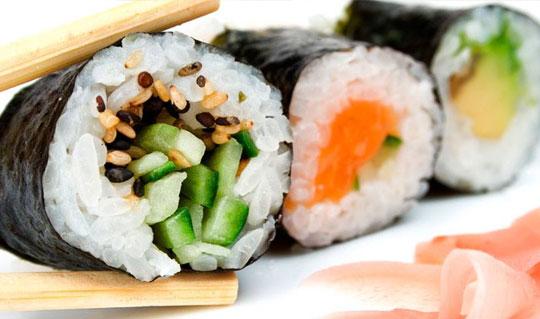 Dining at Oki Sushi