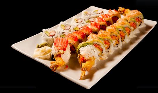 Dining at Umi Teriyaki & Sushi
