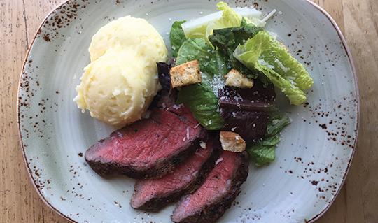 Dining at Tender Greens