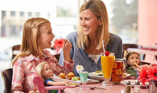 Dining at American Girl® Bistro