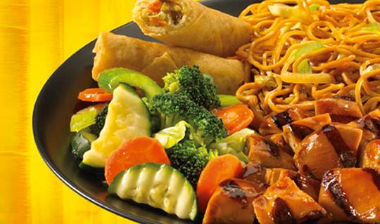 Dining at Asian Chao/Maki of Japan