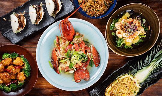 Dining at Karma Asian Fusion Cuisine