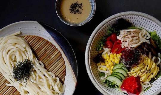 Dining at Taro San Noodle Bar