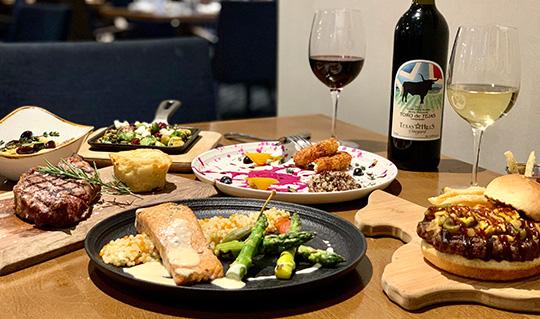 Dining at Ferah Tex-Med Kitchen