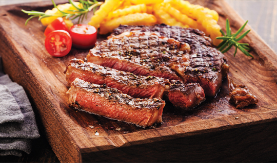 Dining at Steak Up