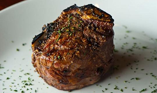 Dining at Sullivan's Steakhouse