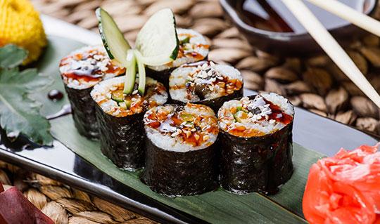 Dining at UMI of Japan