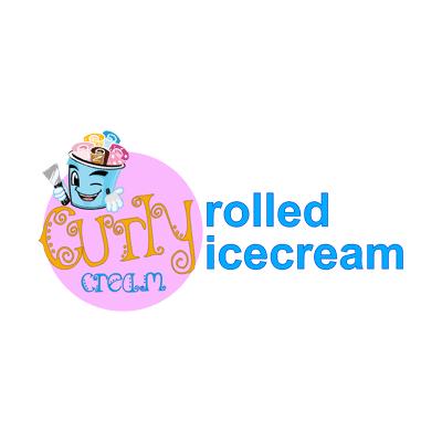 Curly Cream Rolled Ice Cream